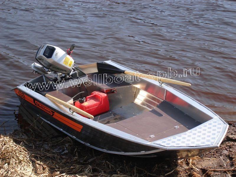 производитель алюминиевых лодок вельбот